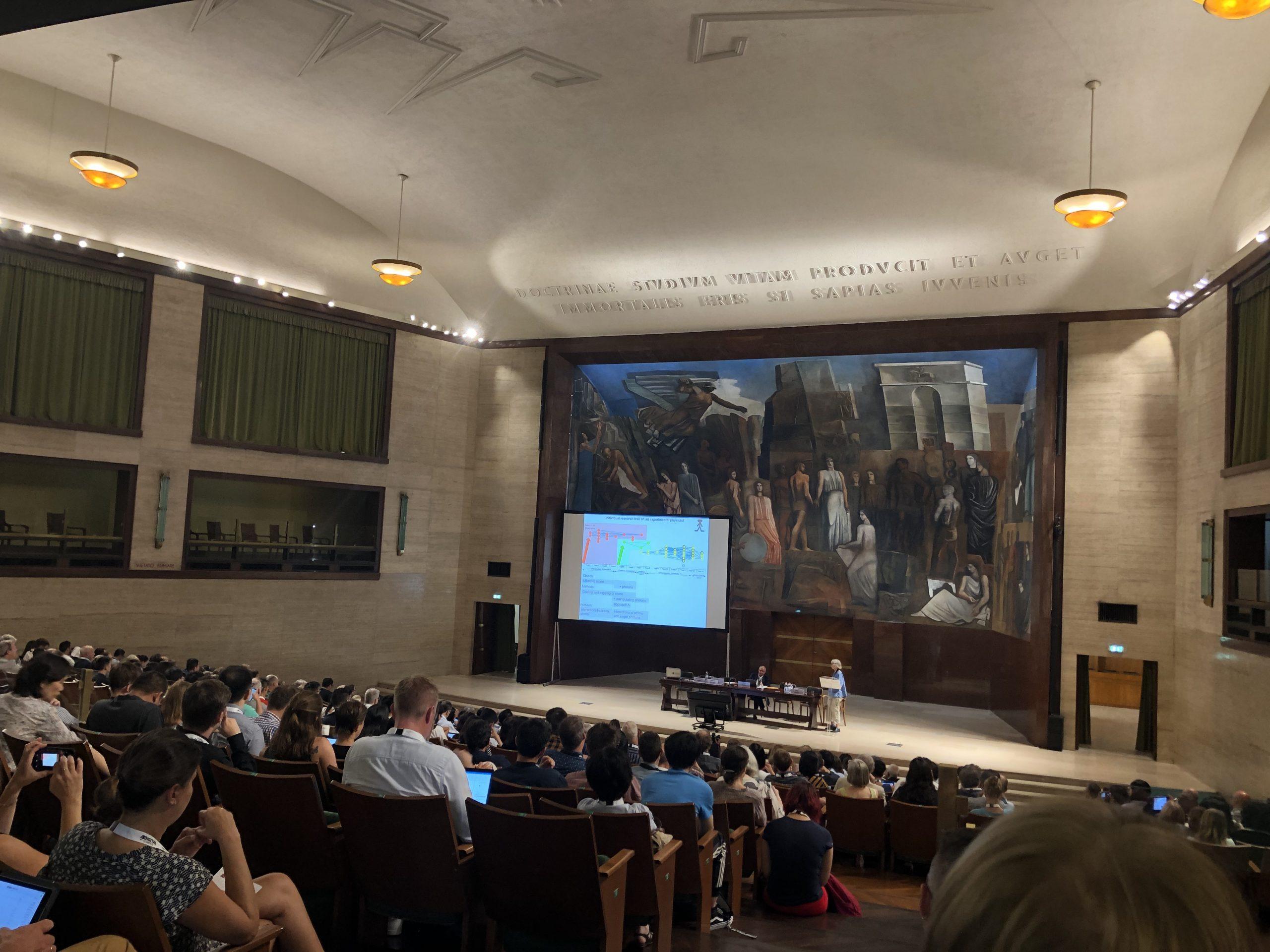Mokslo konferencijų sąrašas: ISSI2019, Sapienza University, Rome, Italy